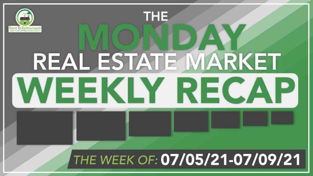 Gray weekly recap banner