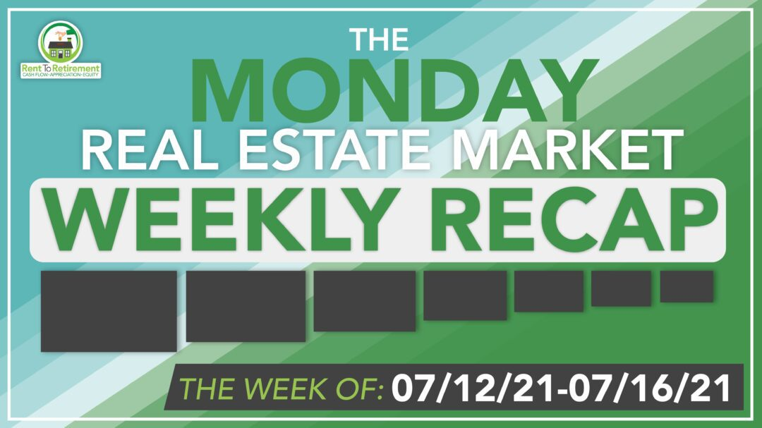 Blue weekly recap banner