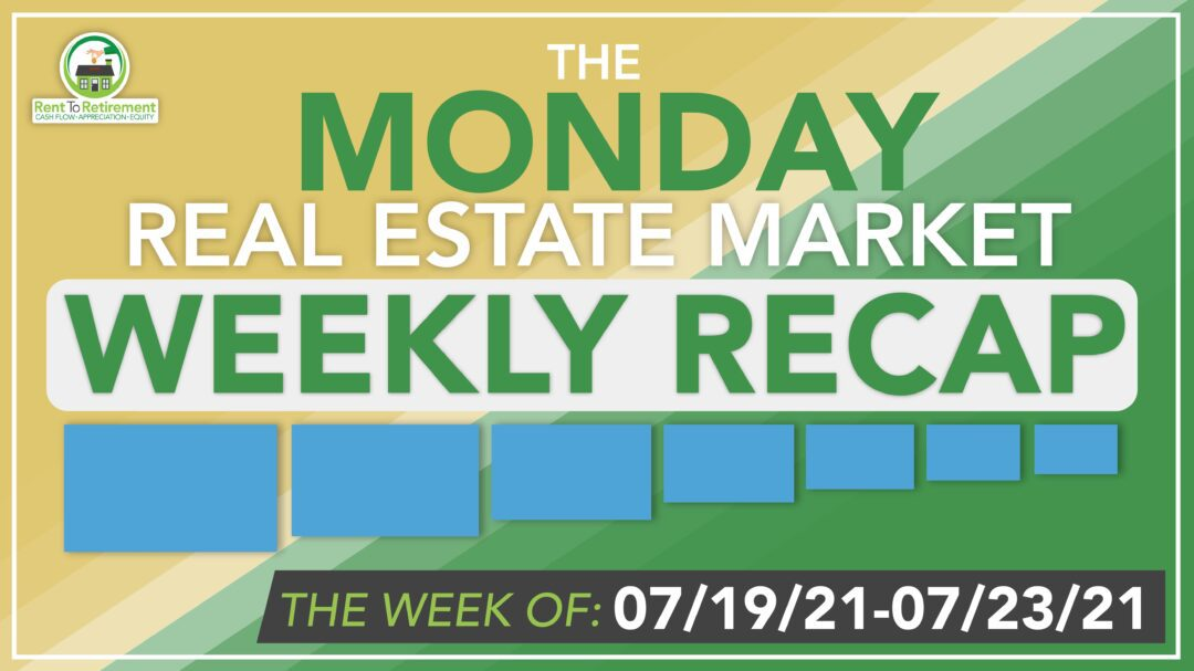 Yellow weekly recap banner