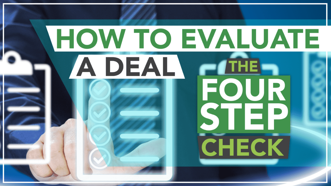 How to evaluate a deal banner